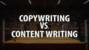 Copywriting & Content Writing: Same-same, yet very different?